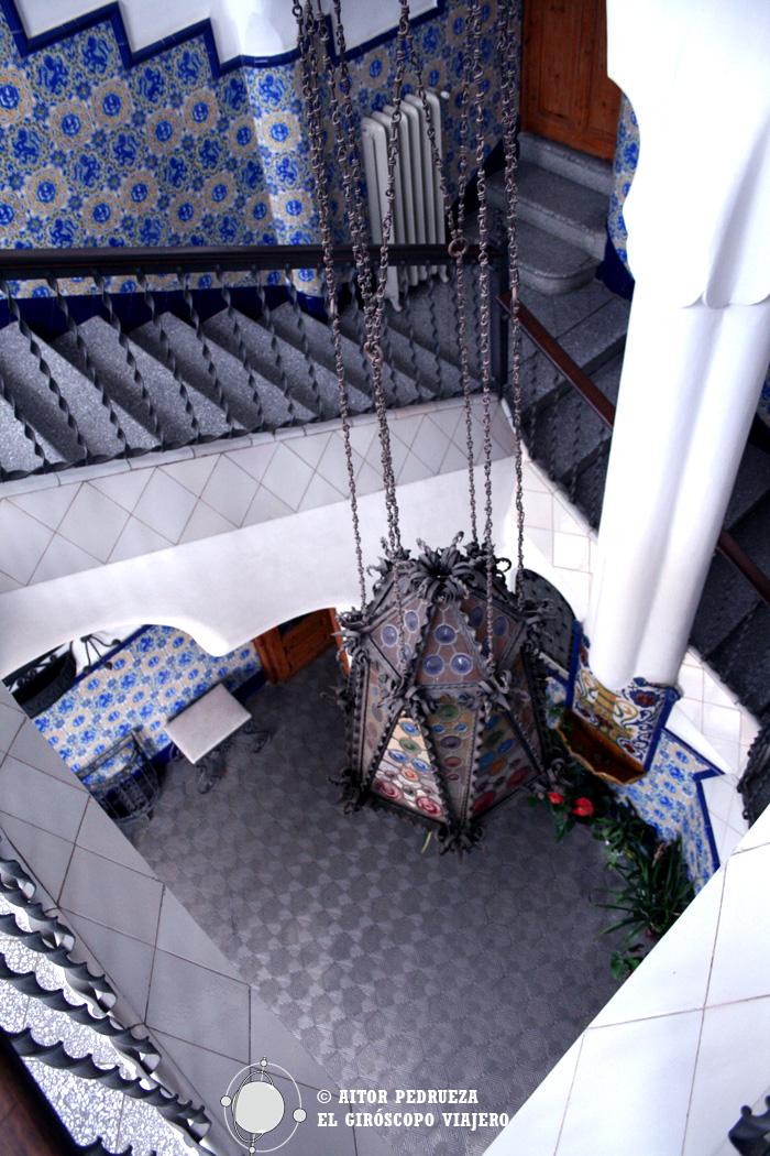 Interior de la Casa de Bellesguard