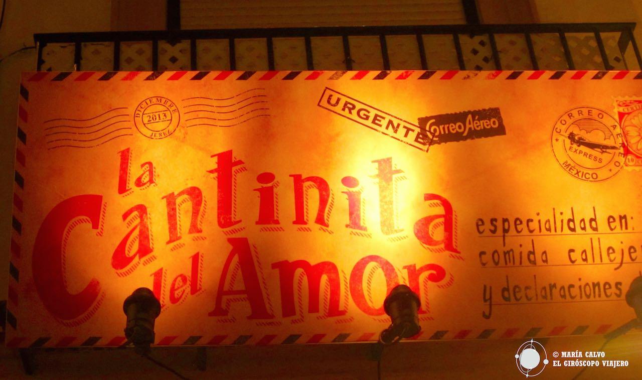 La Cantinita del amor, en Jerez de la Frontera
