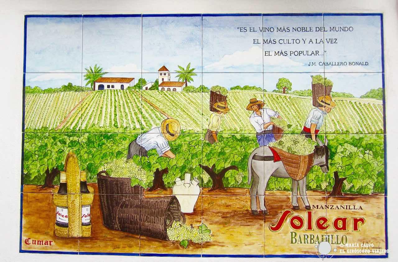 Ruta gastronómica por Andalucía II. Dulces de Sanlúcar y vinos de Jerez