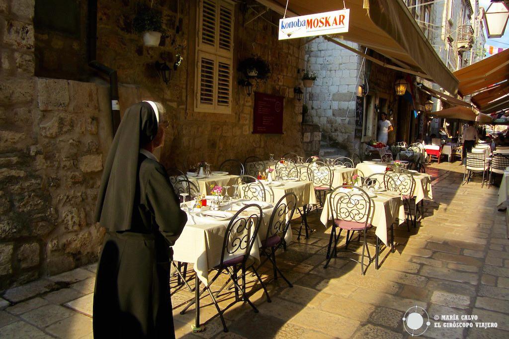 Los konovas, restaurantes de comoda típica croata