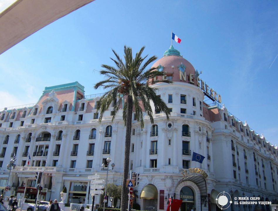 El Negresco, uno de los más bellos hoteles del mundo