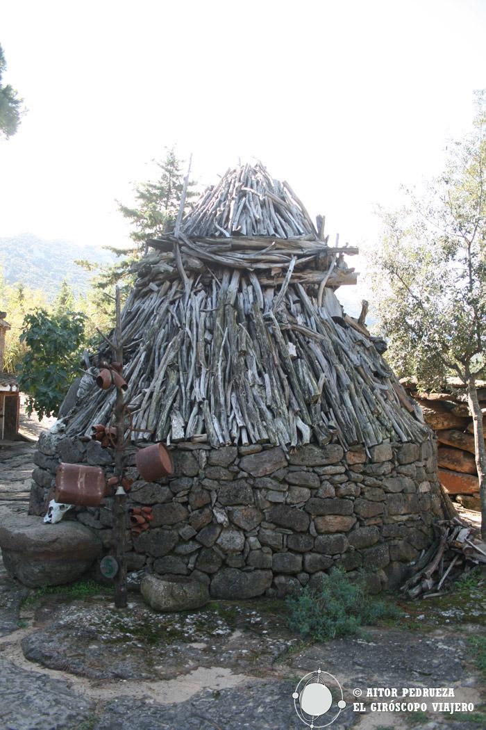 Cabaña de pastores del Parque Museo S'Abba Frisca