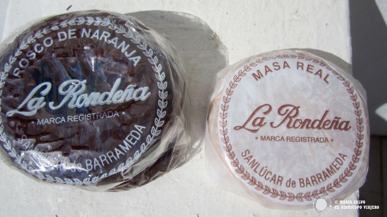 Dulces de Sanlúcar, la Masa Real, un clásico