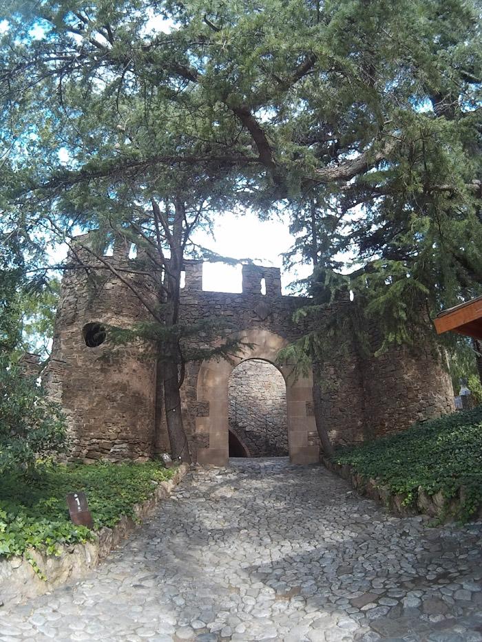 Entrada a los jardines de Bellesguard