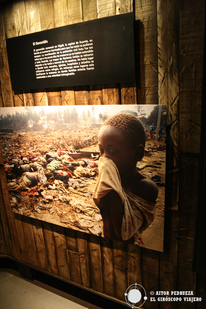 Genocidio de Ruanda explicado en el Museo de la Memoria y la Tolerancia