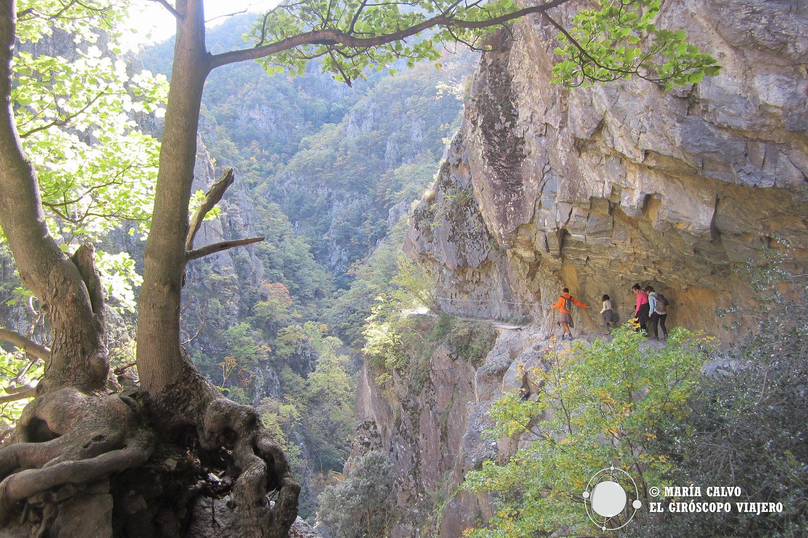 Senderismo en los Pirineos. Las Gargantas del Carança. El Sendero del Vértigo