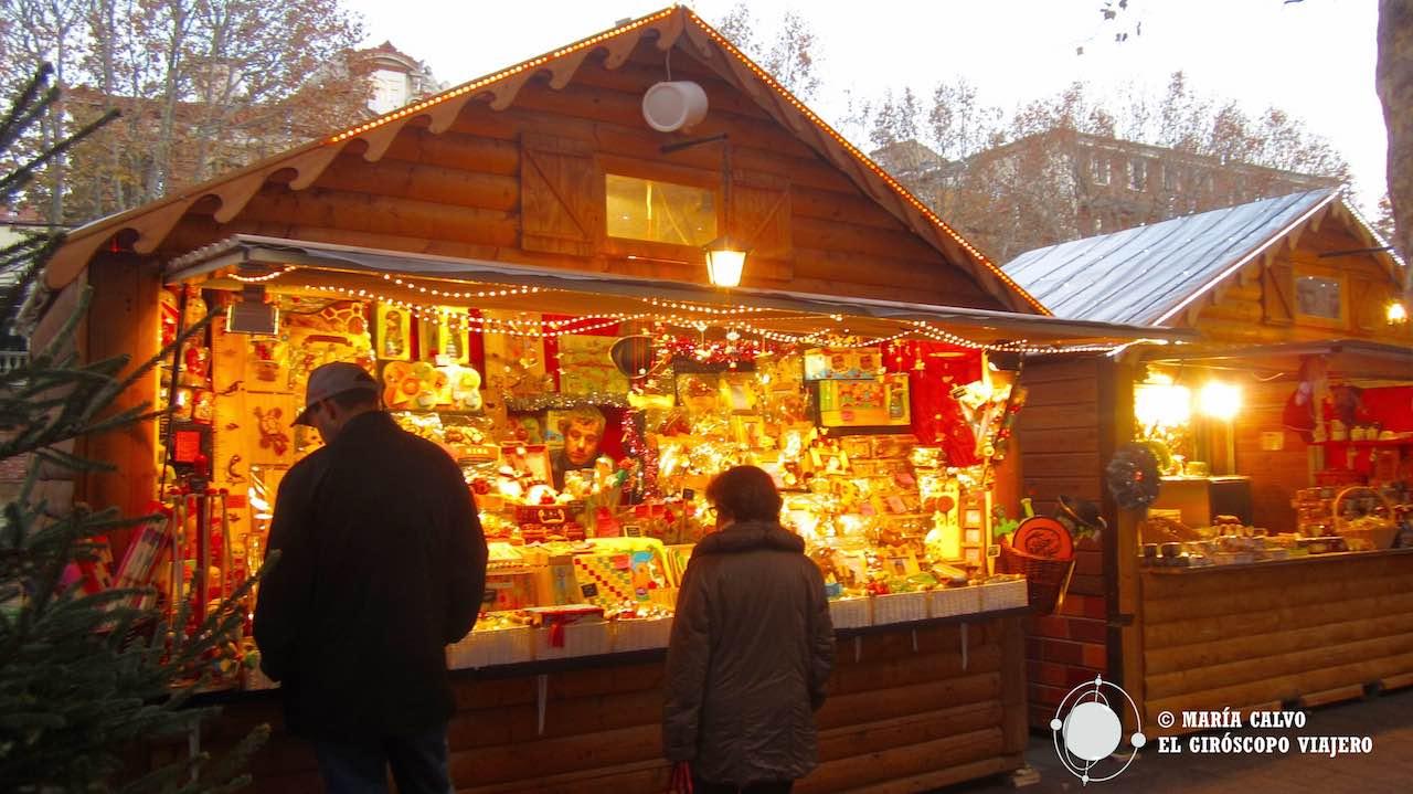 Magia en el Mercado de Navidad de Perpiñán