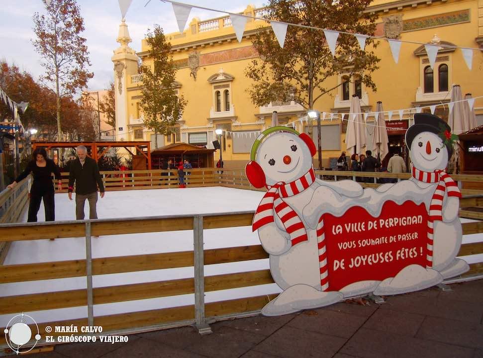 Bienvenidos a la pista de patinaje de Perpiñán