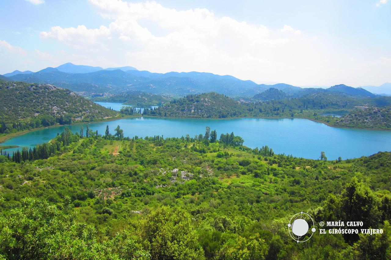 Los lagos de Bacinska Jezera