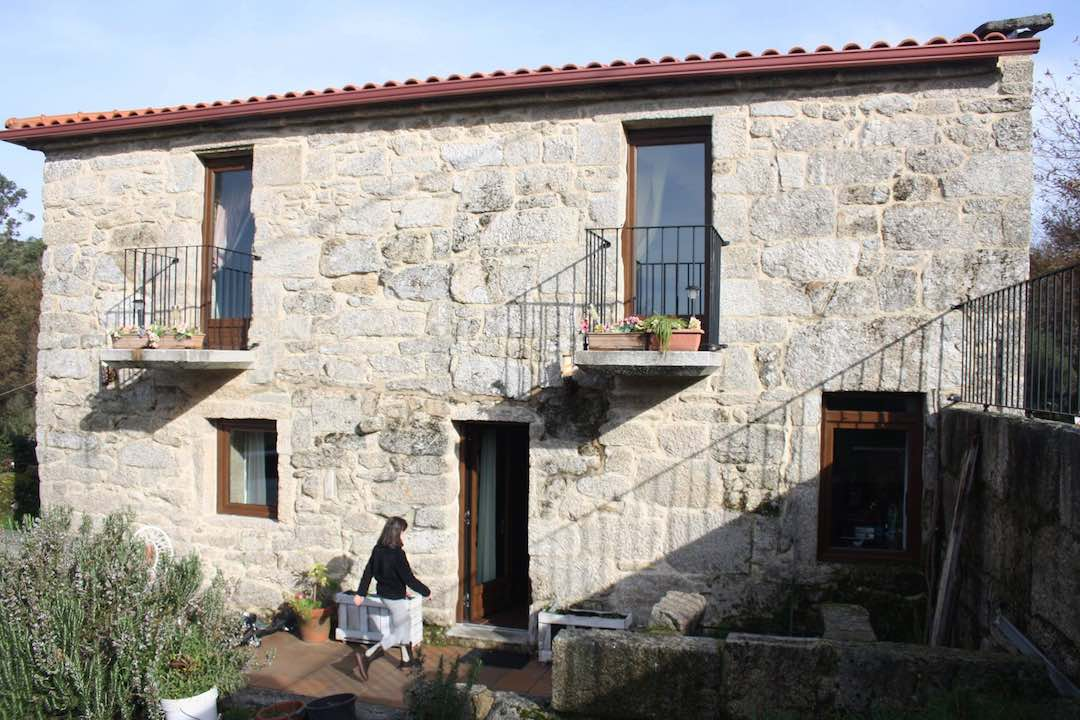 La magnífica casa rural donde nos alojamos. ©Jaico Fernández.