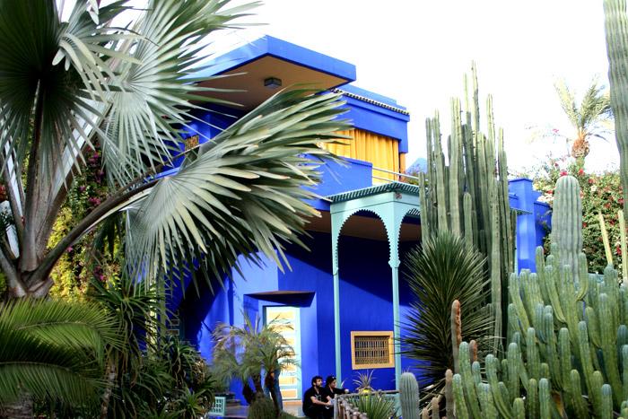 Los jardines de Majorelle, refugio de Yves Saint Laurent en Marrakech