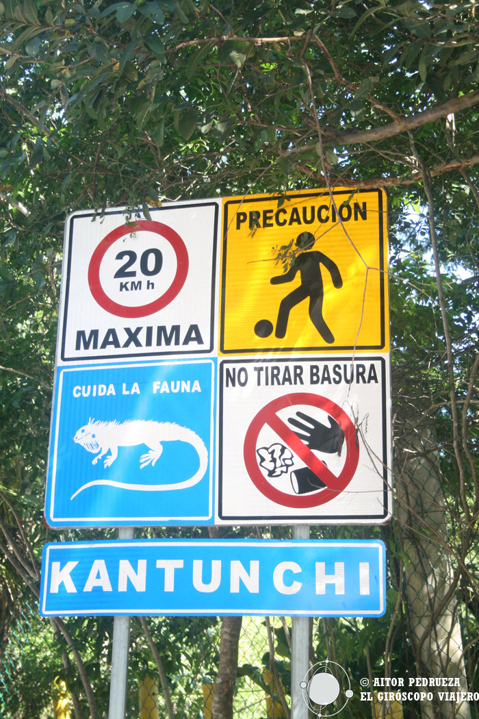 Entrada al Eco Park Kantun Chi