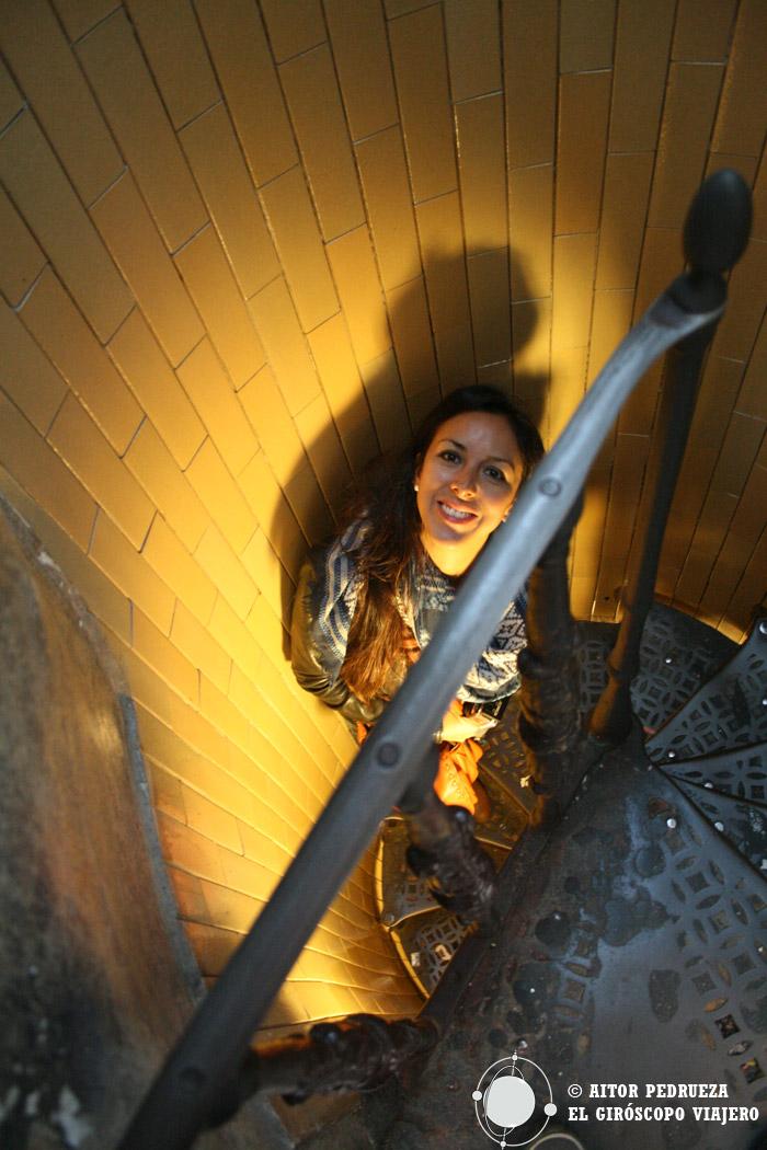 Subiendo a la cúpula de San Pedro
