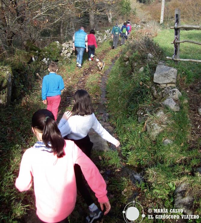 De senderismo por Galicia II. Tras los pasos del río Barbeira