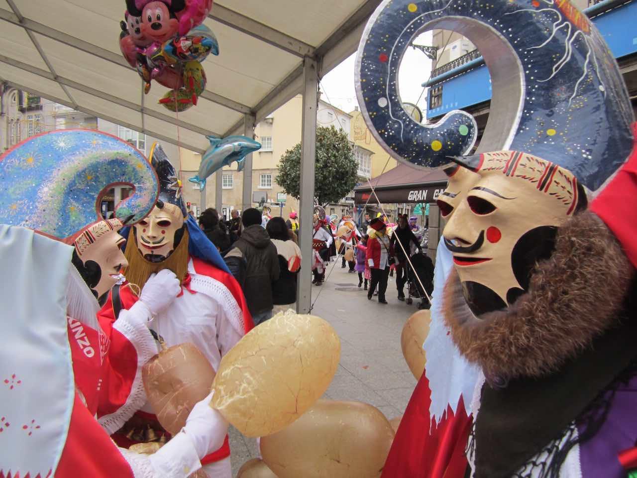 Sumarse al éxtasis colectivo del Carnaval. ©María Calvo.