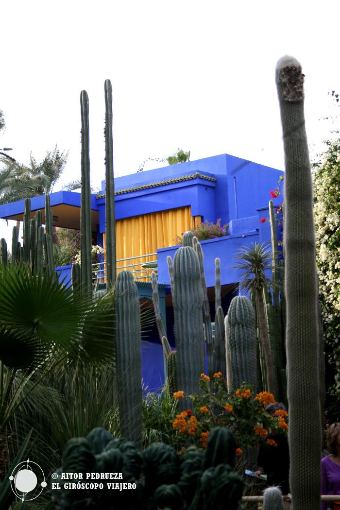 La casa Azul de los Jardines Majorelle en Marrakech