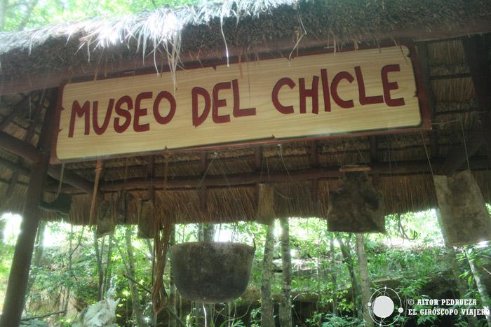 Museo del chicle de Kantun Chi
