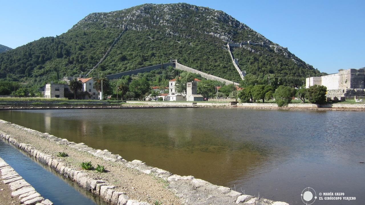 Las salinas de Ston, en el pasado un auténtico tesoro para Croacia.