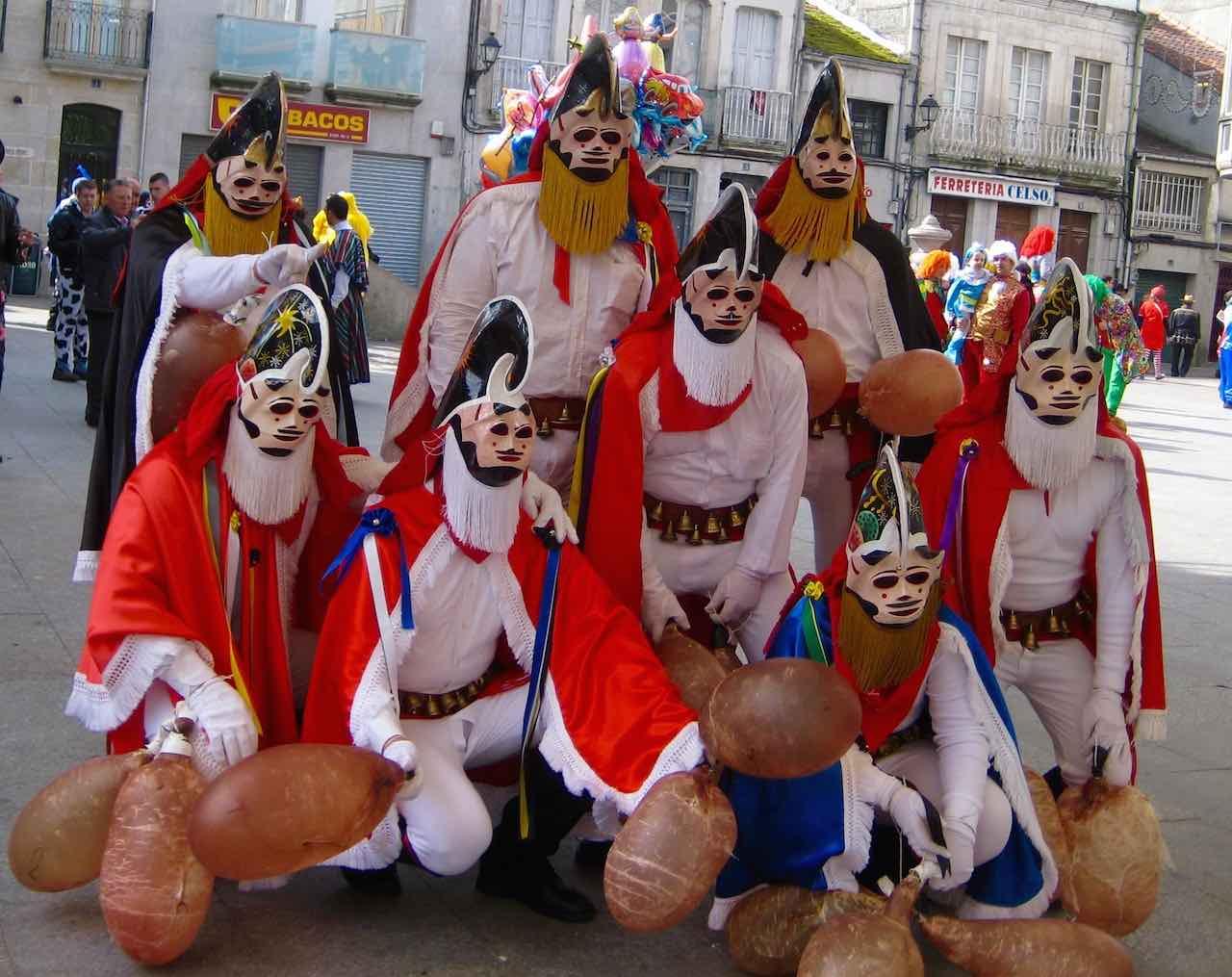 Carnaval en Galicia. El Entroido de Xinzo de Limia