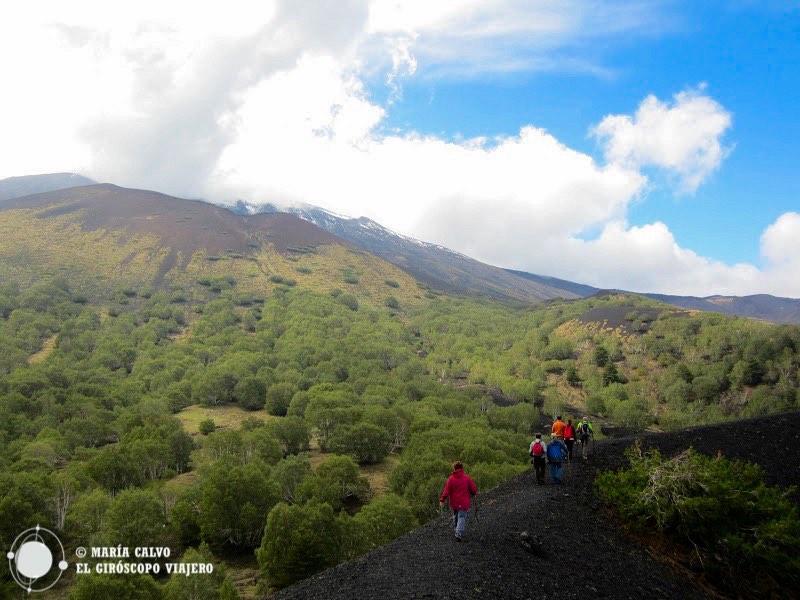 El paisaje del Etna