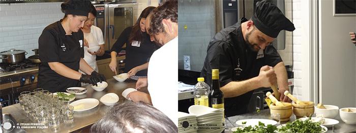 Chef Juan Carlos y Chef Mónica