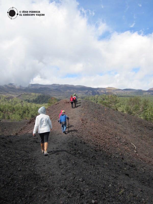 Perdidos en el Parque del Etna