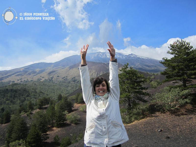 Tocando el Etna