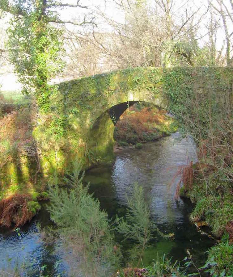 Puente de O Peso, un rincón para pararse en nuestra ruta
