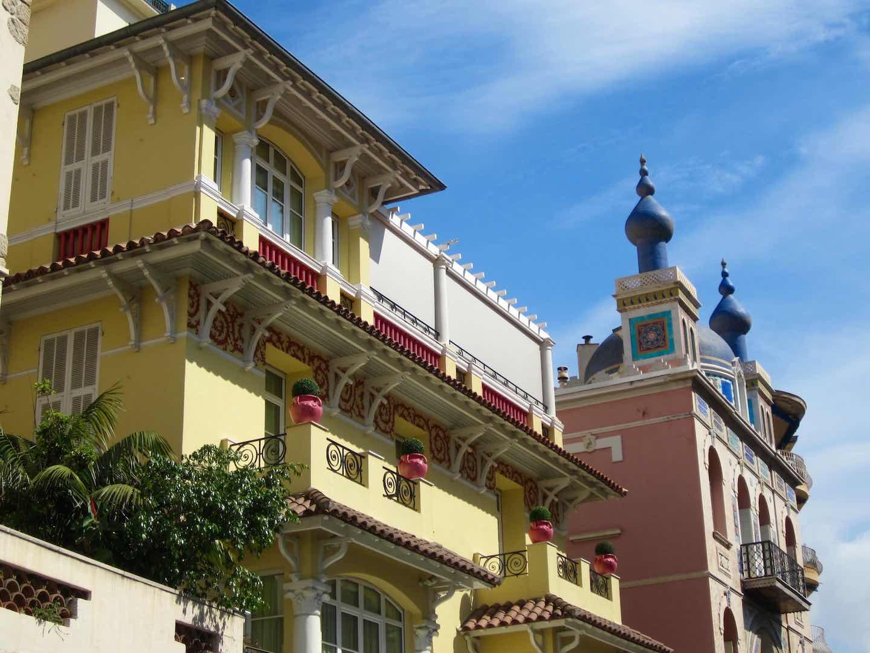 Preciosos edificios en Mónaco