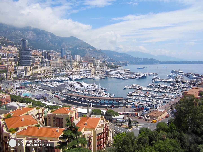 El Puerto de Montecarlo desde Mónaco