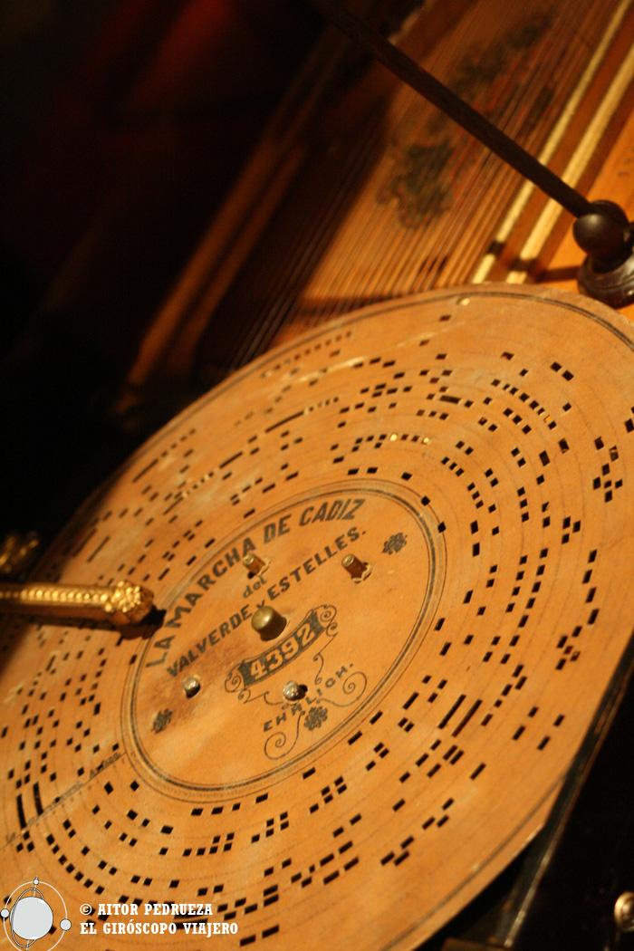 Todo tipo de objetos clásicos relacionados con la música