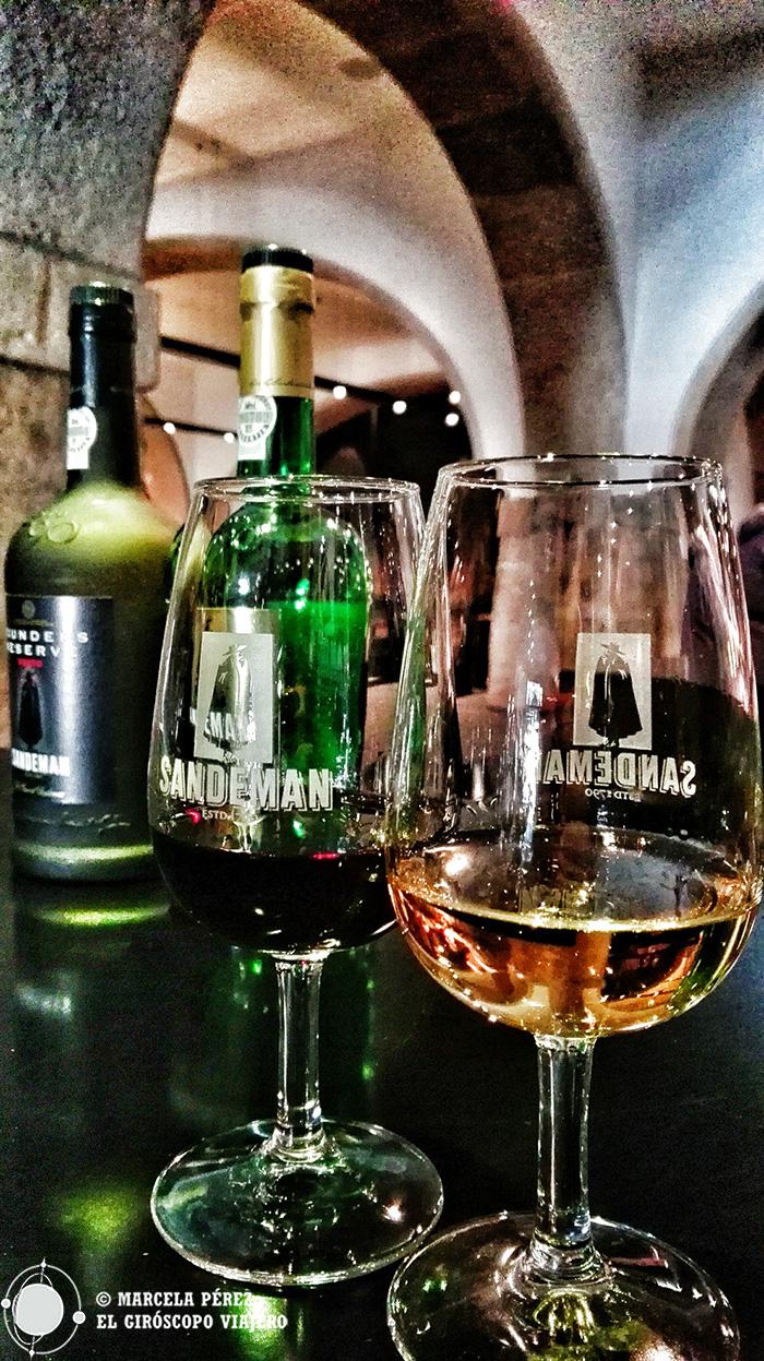 Vino rubí y vino branco