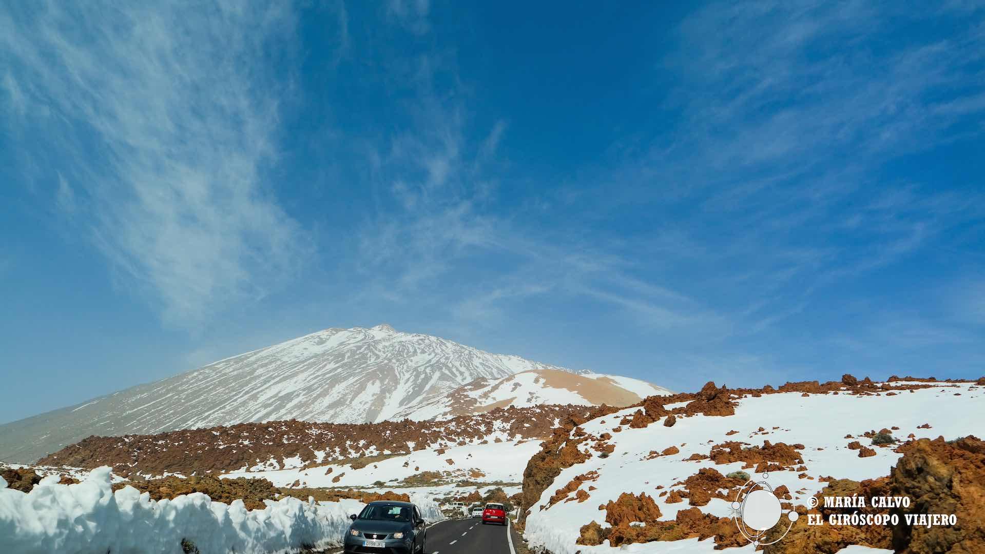 Subiendo hacia el Teide