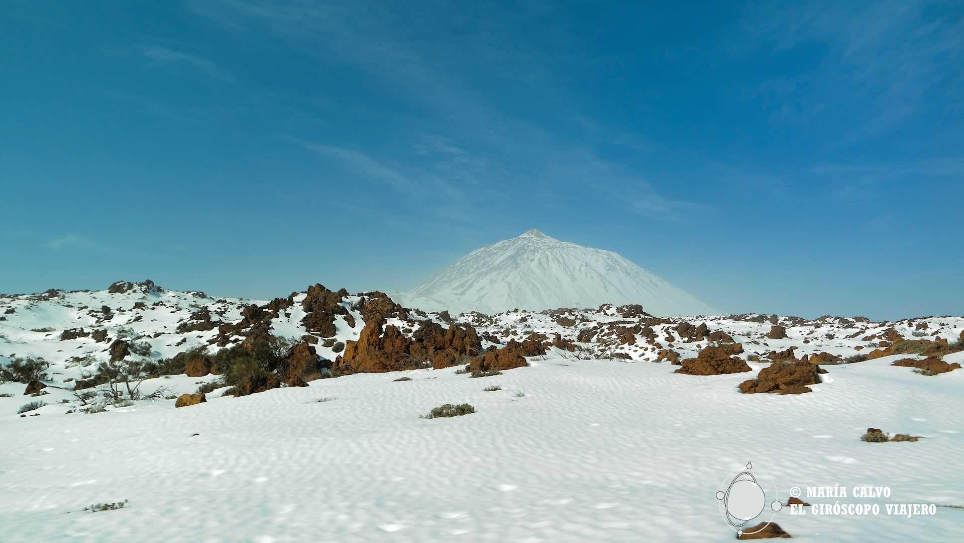 El Teide blanco