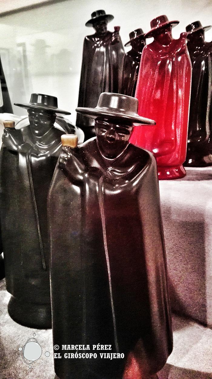 Figurillas de El Don en el Museo de Sandeman