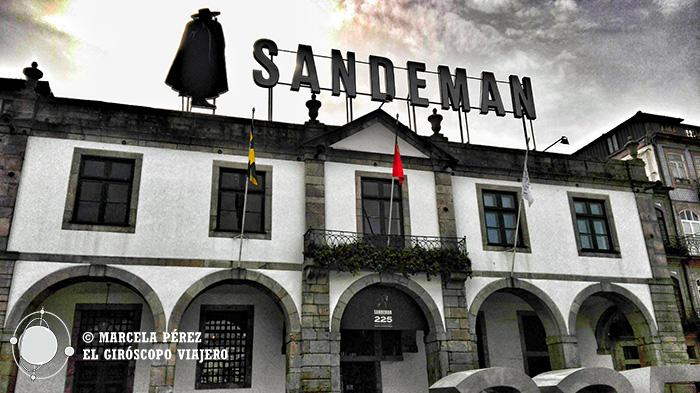 Bodegas Sandeman en Vila Nova Da Gaia