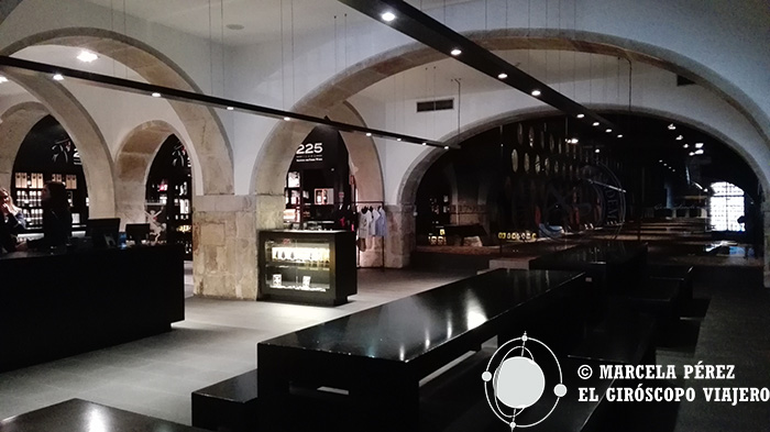 Espacio de cata del vino de Porto