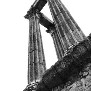 Evora posee un importante pasado romano. Alentejo. ©Iñigo Pedrueza.