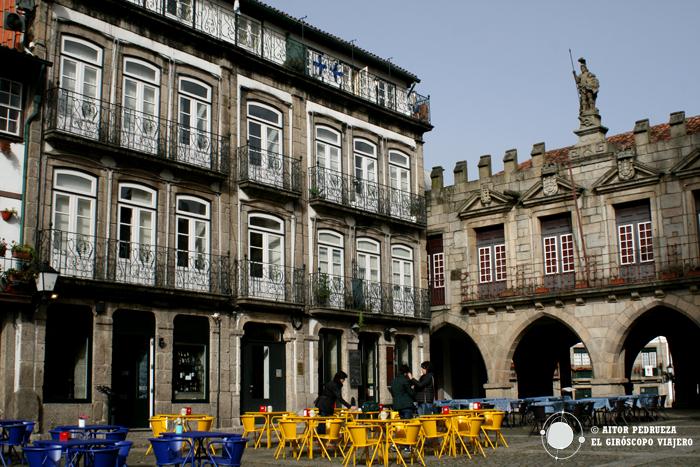 Largo da Oliveria, en el corazón de Guimaraes