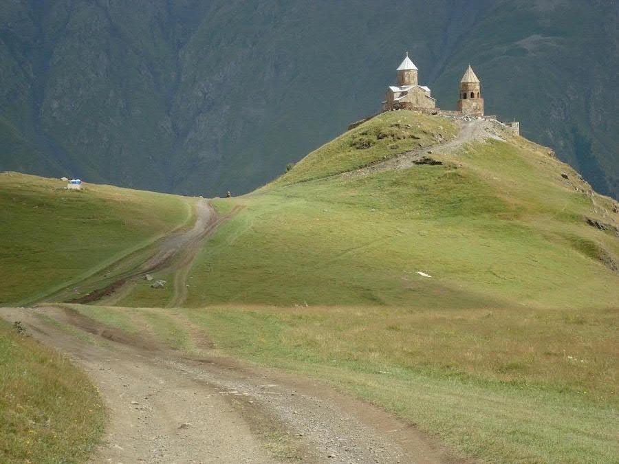 Trekking por la zona del monte Kazbegi. Sin palabras.