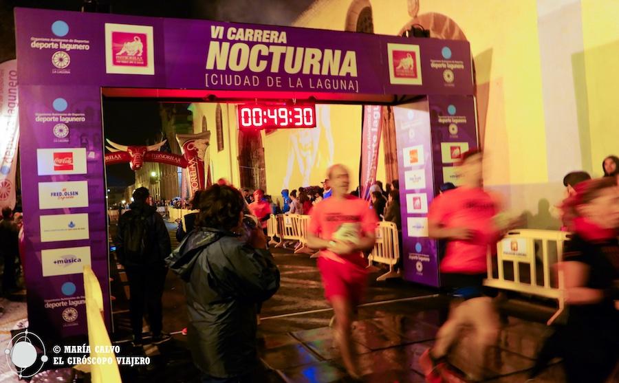 La satisfacción de la llegada. ¡El tiempo es real es más bajo! ©María Calvo.