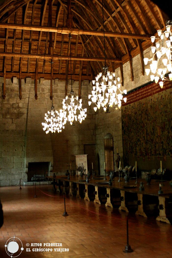 Salones del Palacio de los Duques de Braganza