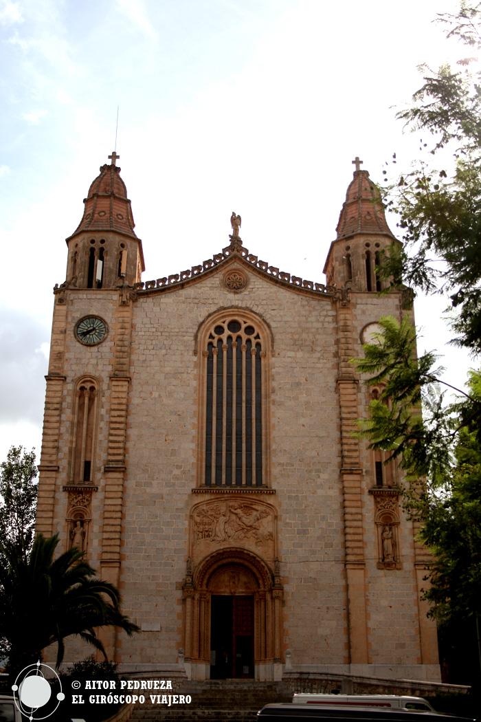 Iglesia de San Juan Bautista en Calvia