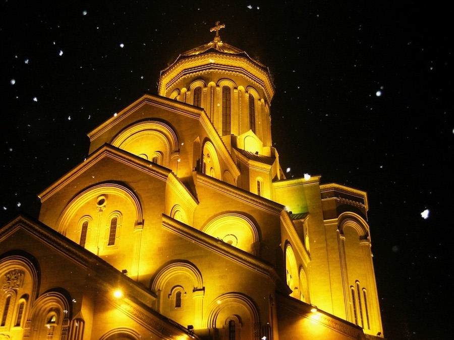 Catedral de Tiblisi. Foto de Maxbenidze