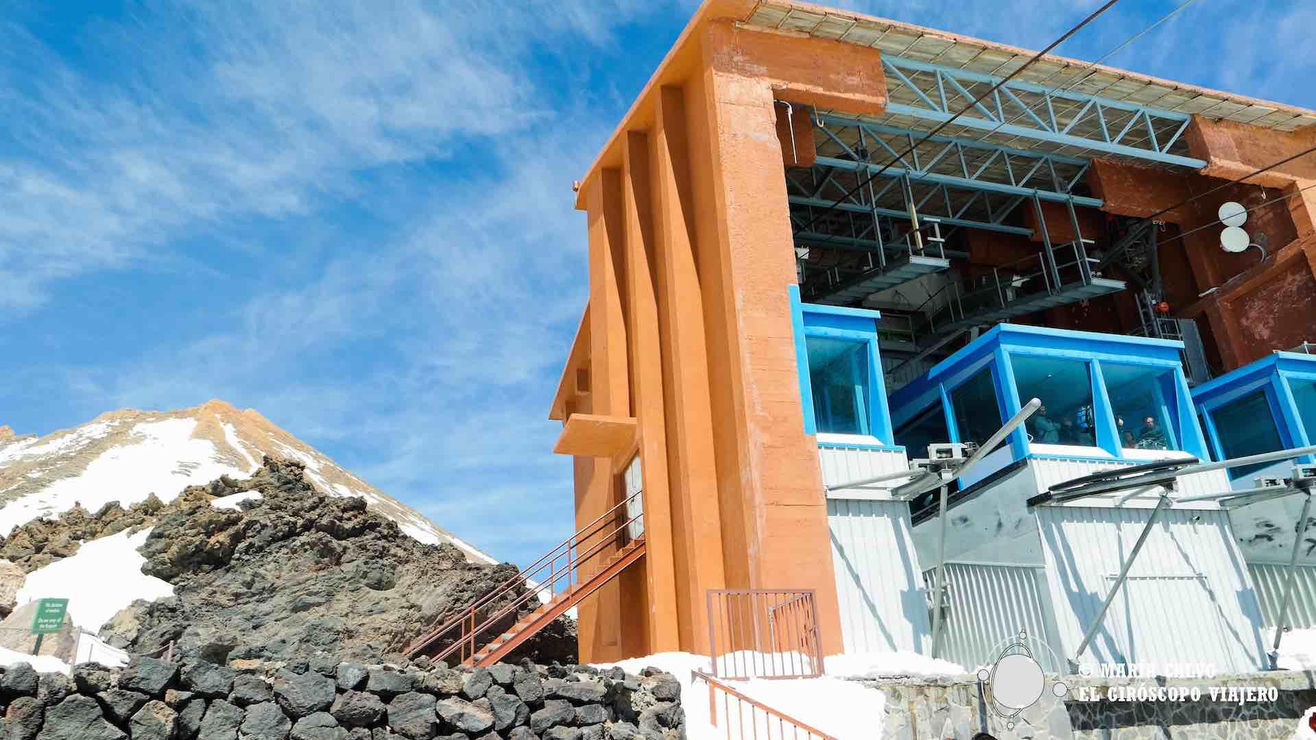 De la Rambleta parten las rutas que llevan al pico Teide