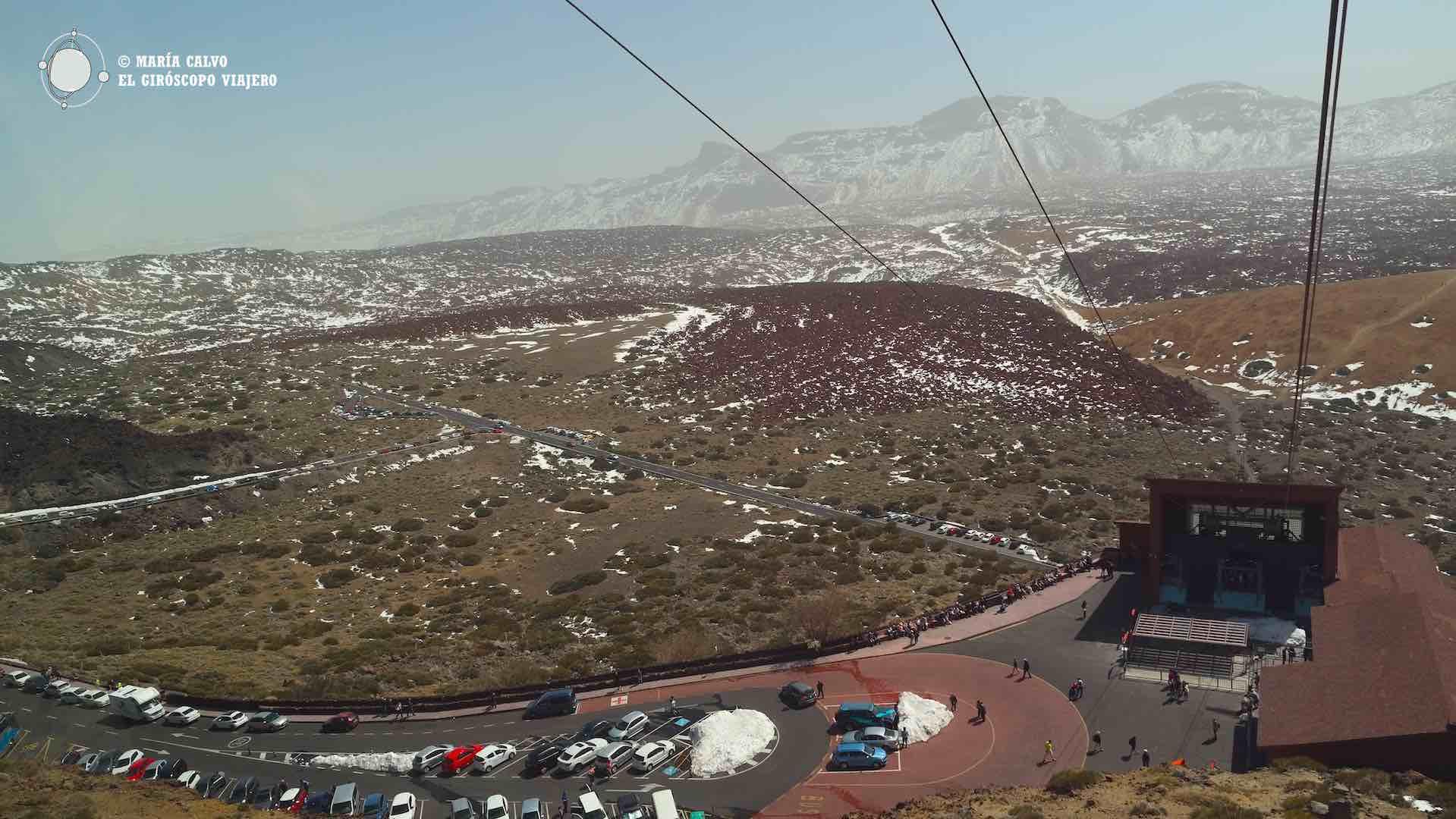 Base del teleférico del Teide