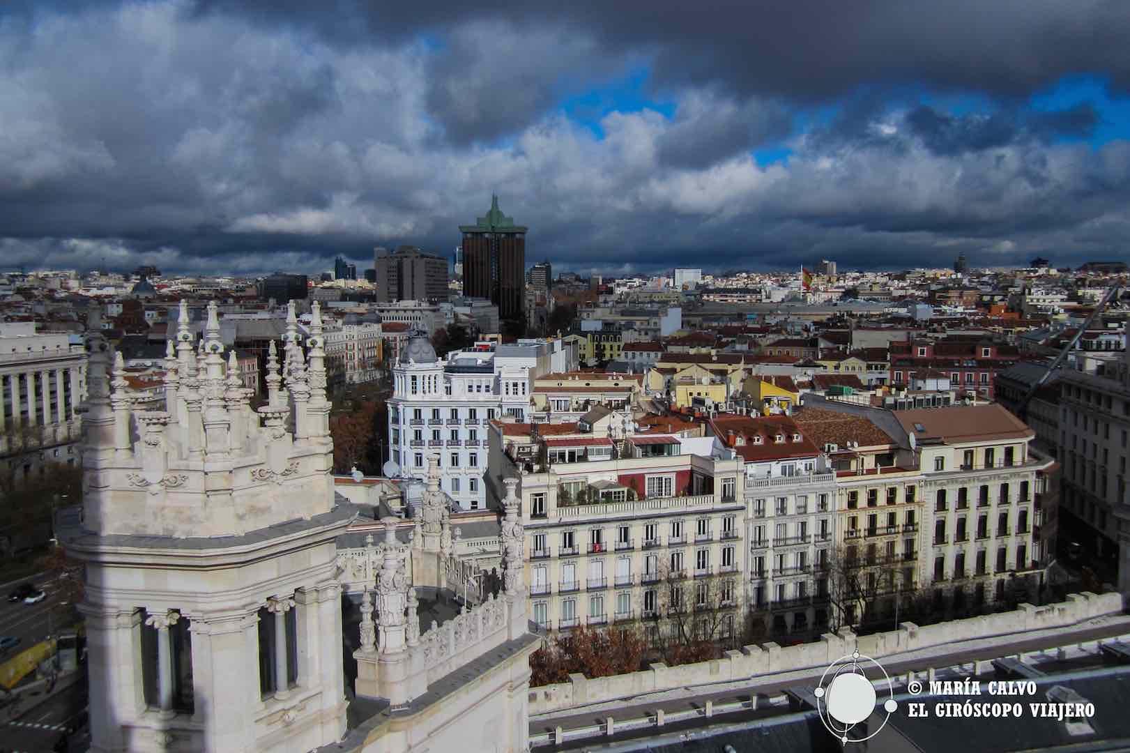 Madrid desde el Palacio Cibeles