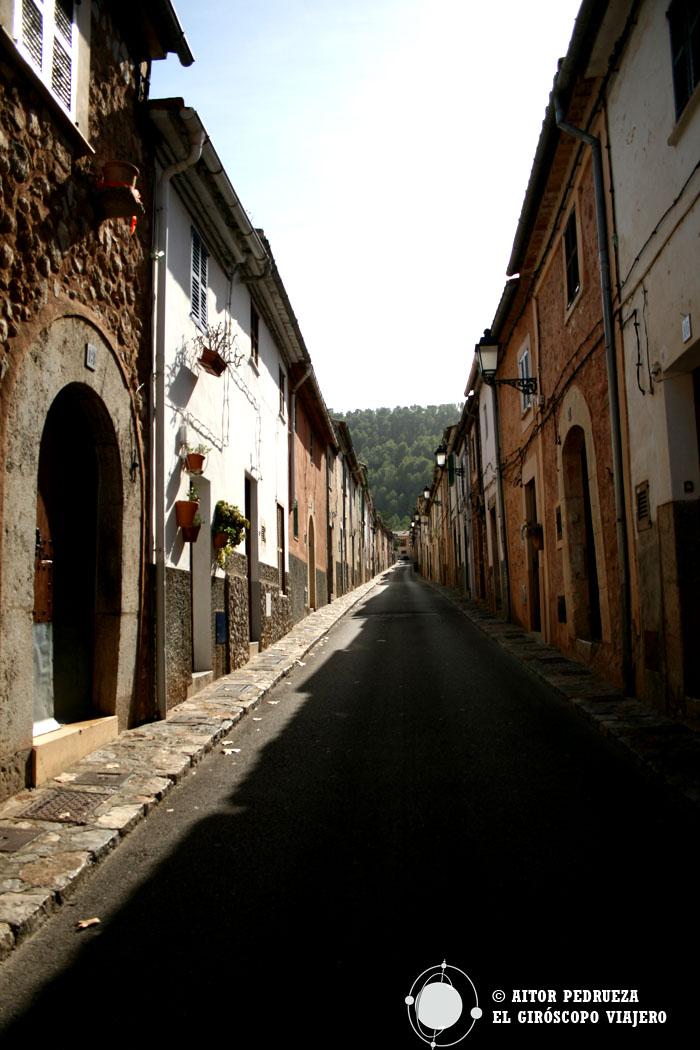 Casas del pueblo de Esporles