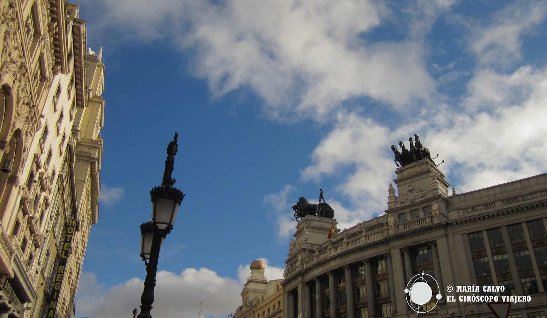 Volar por los cielos de Madrid