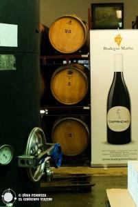 Capricho, un vino irrepetible de la multipremiada Bodegas Marba. Iñigo Pedrueza.